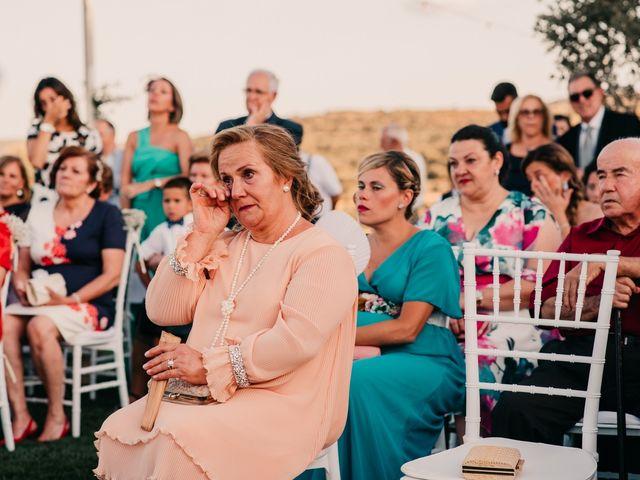 La boda de Toni y María en Caracuel De Calatrava, Ciudad Real 75