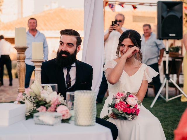 La boda de Toni y María en Caracuel De Calatrava, Ciudad Real 76