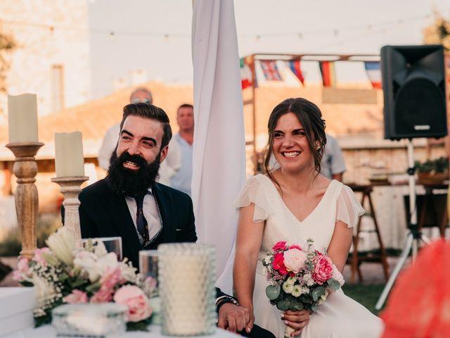 La boda de Toni y María en Caracuel De Calatrava, Ciudad Real 77