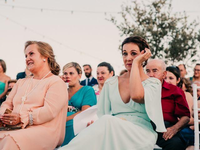 La boda de Toni y María en Caracuel De Calatrava, Ciudad Real 78