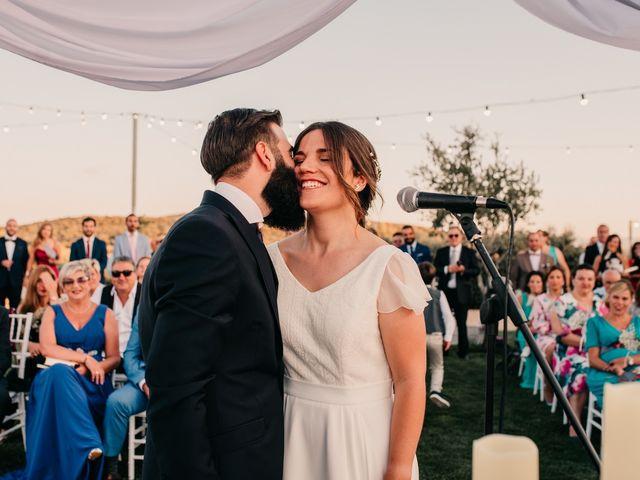La boda de Toni y María en Caracuel De Calatrava, Ciudad Real 81
