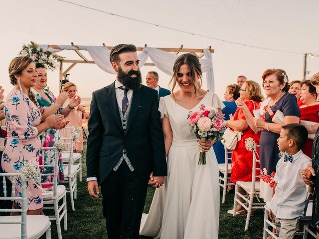 La boda de Toni y María en Caracuel De Calatrava, Ciudad Real 83