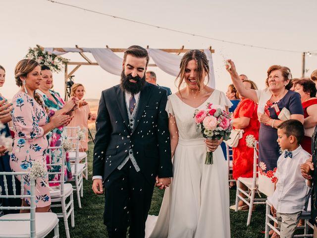 La boda de Toni y María en Caracuel De Calatrava, Ciudad Real 84