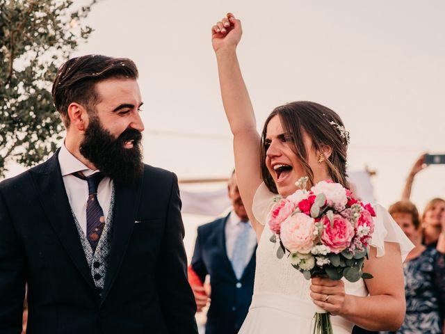 La boda de Toni y María en Caracuel De Calatrava, Ciudad Real 86