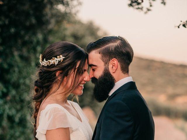 La boda de Toni y María en Caracuel De Calatrava, Ciudad Real 90