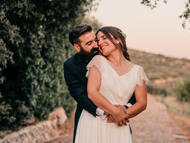 La boda de Toni y María en Caracuel De Calatrava, Ciudad Real 91