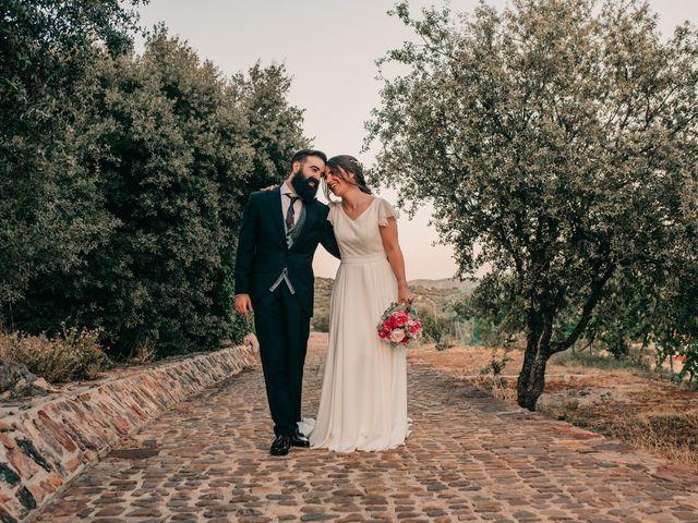La boda de Toni y María en Caracuel De Calatrava, Ciudad Real 92