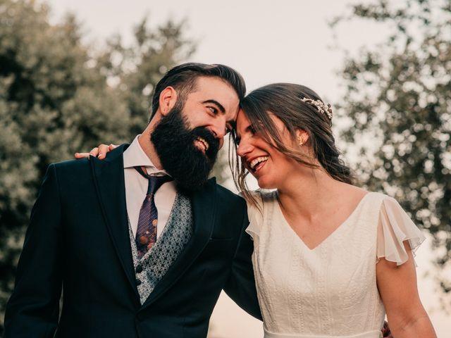 La boda de Toni y María en Caracuel De Calatrava, Ciudad Real 93