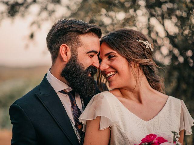 La boda de Toni y María en Caracuel De Calatrava, Ciudad Real 94