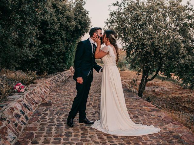 La boda de Toni y María en Caracuel De Calatrava, Ciudad Real 100