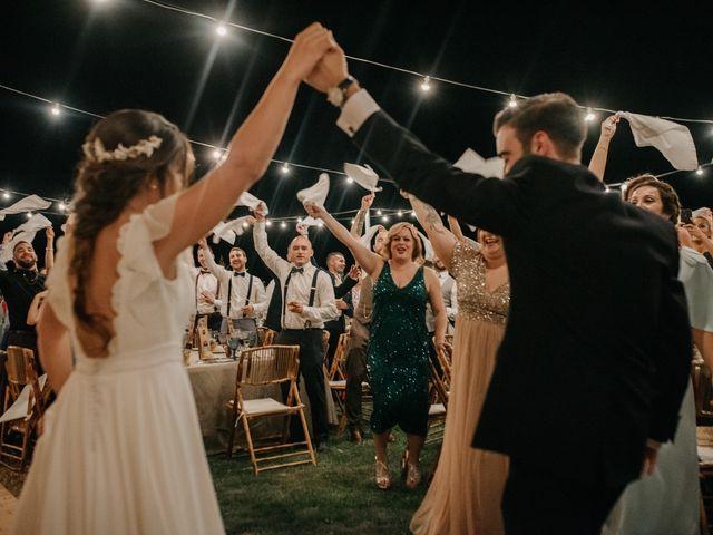 La boda de Toni y María en Caracuel De Calatrava, Ciudad Real 118