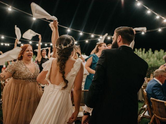 La boda de Toni y María en Caracuel De Calatrava, Ciudad Real 119