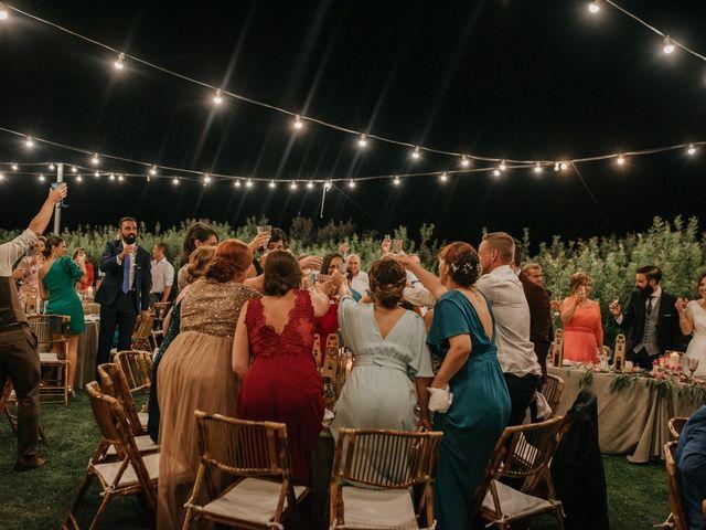 La boda de Toni y María en Caracuel De Calatrava, Ciudad Real 121