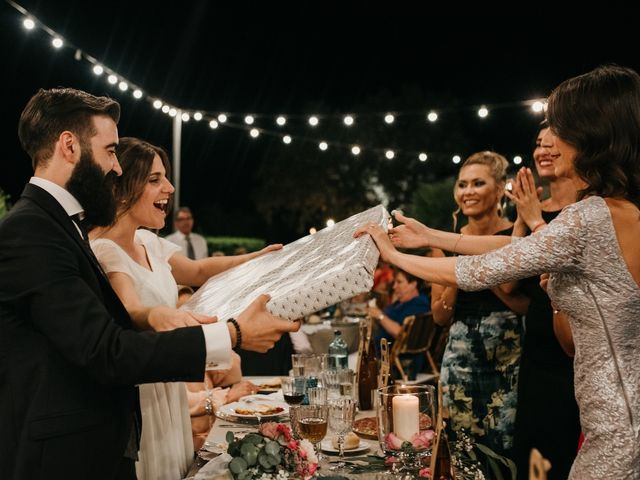 La boda de Toni y María en Caracuel De Calatrava, Ciudad Real 124