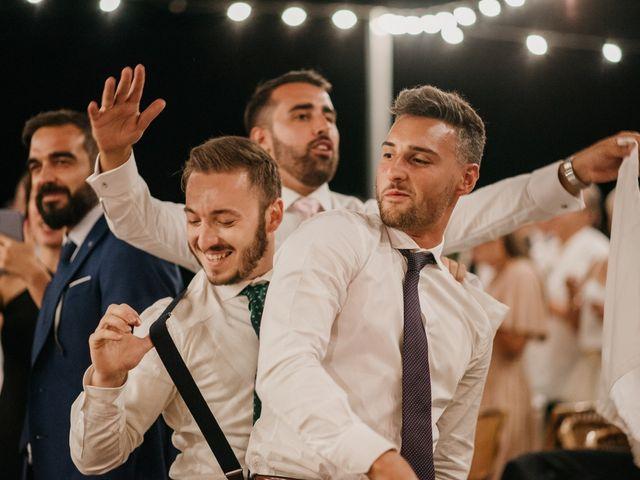 La boda de Toni y María en Caracuel De Calatrava, Ciudad Real 127