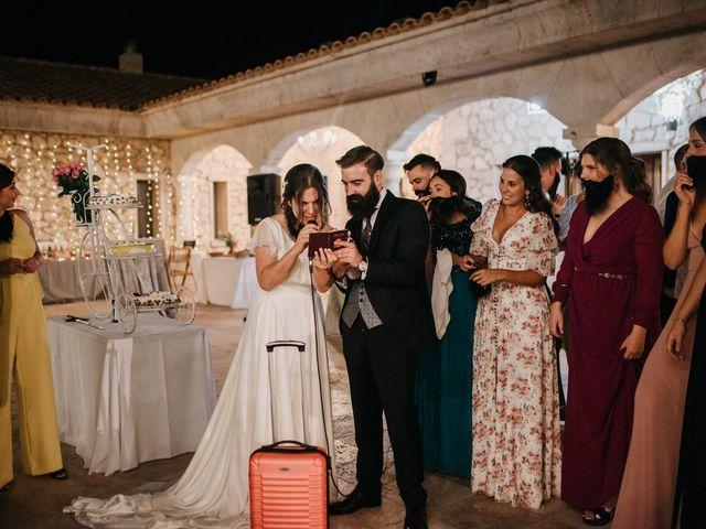 La boda de Toni y María en Caracuel De Calatrava, Ciudad Real 135