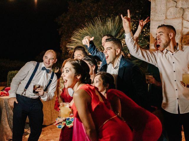 La boda de Toni y María en Caracuel De Calatrava, Ciudad Real 139