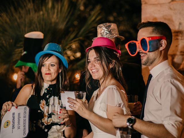 La boda de Toni y María en Caracuel De Calatrava, Ciudad Real 142
