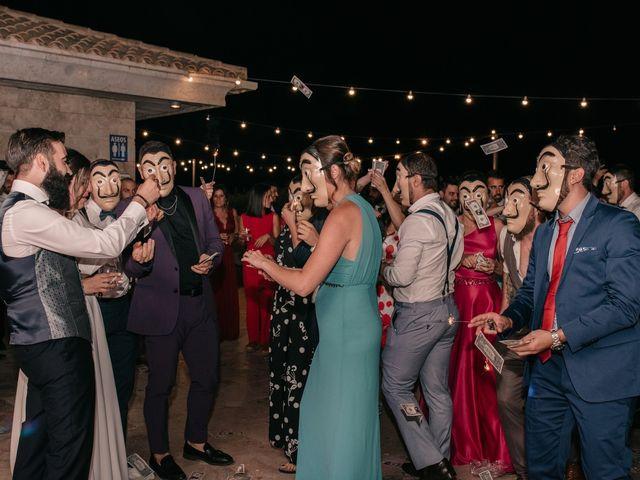 La boda de Toni y María en Caracuel De Calatrava, Ciudad Real 144