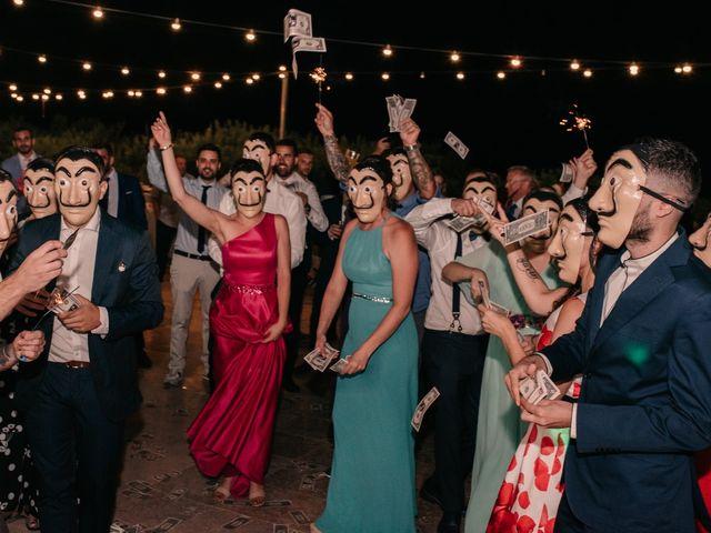 La boda de Toni y María en Caracuel De Calatrava, Ciudad Real 145