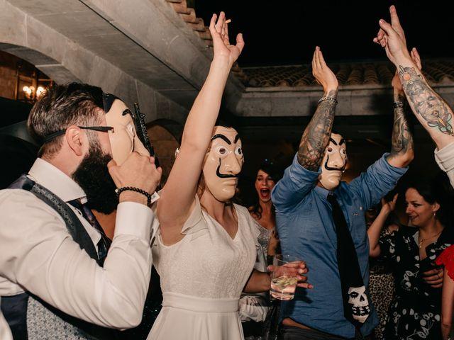 La boda de Toni y María en Caracuel De Calatrava, Ciudad Real 150