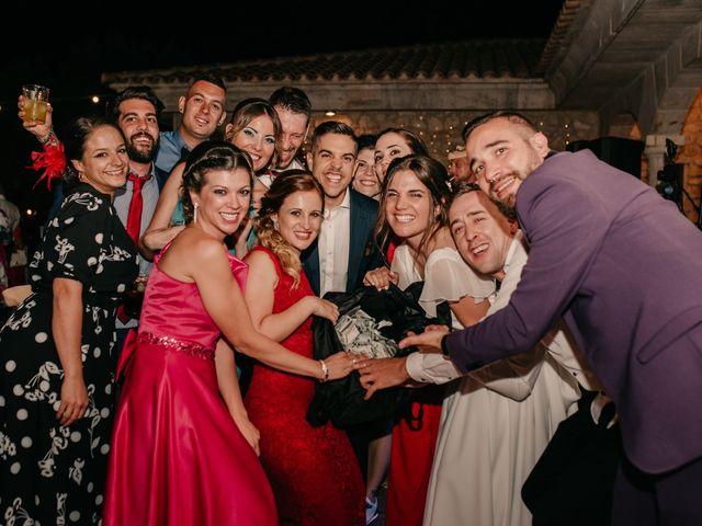 La boda de Toni y María en Caracuel De Calatrava, Ciudad Real 152