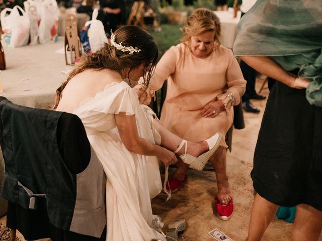La boda de Toni y María en Caracuel De Calatrava, Ciudad Real 158
