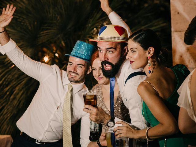 La boda de Toni y María en Caracuel De Calatrava, Ciudad Real 162