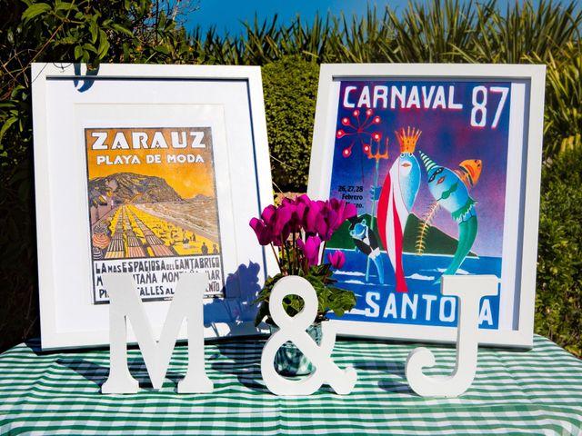 La boda de Jon y María en Santoña, Cantabria 13