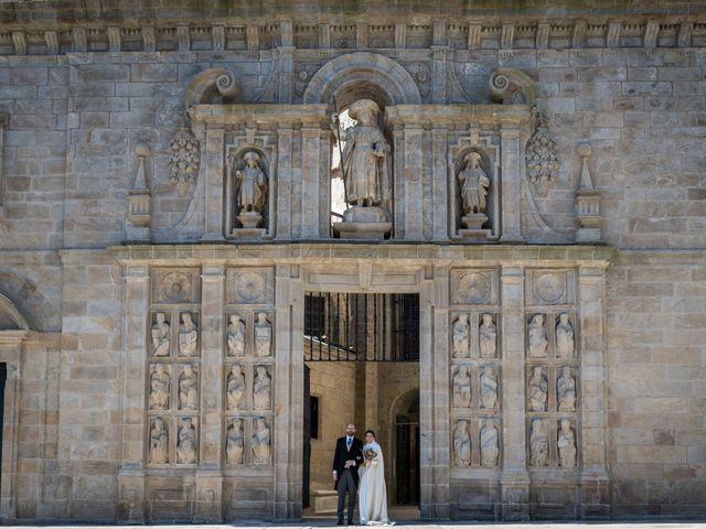 La boda de Óscar y María en Santiago De Compostela, A Coruña 1