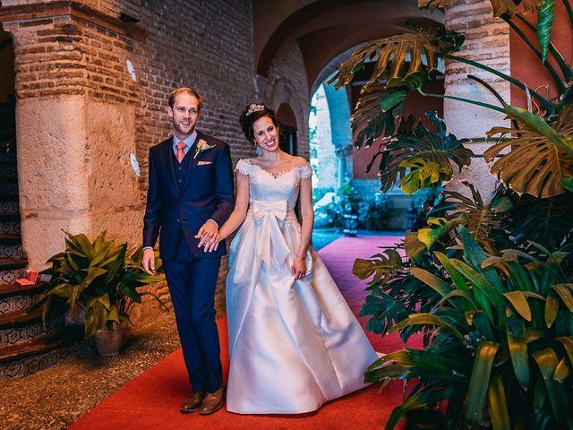 La boda de Josh y Maria José en Ecija, Sevilla 29