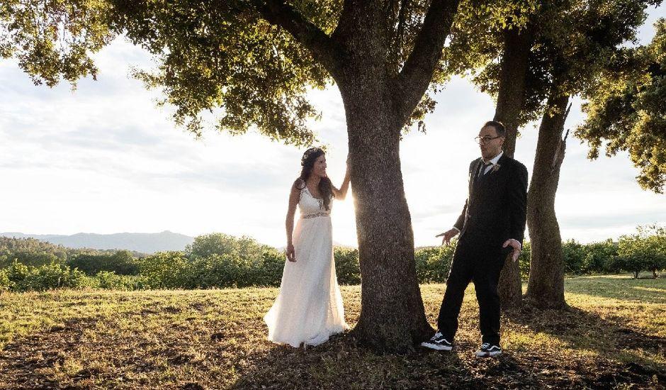 La boda de Héctor  y Judit en Sant Dalmai, Girona