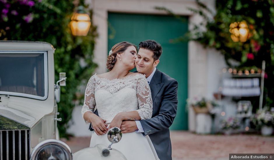 La boda de Israel y Tamara en El Puig, Valencia