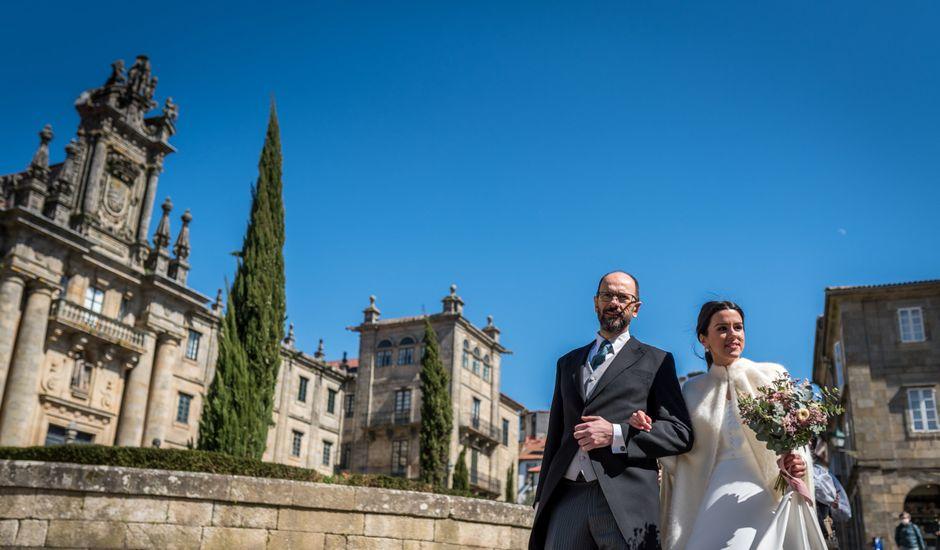 La boda de Óscar y María en Santiago De Compostela, A Coruña