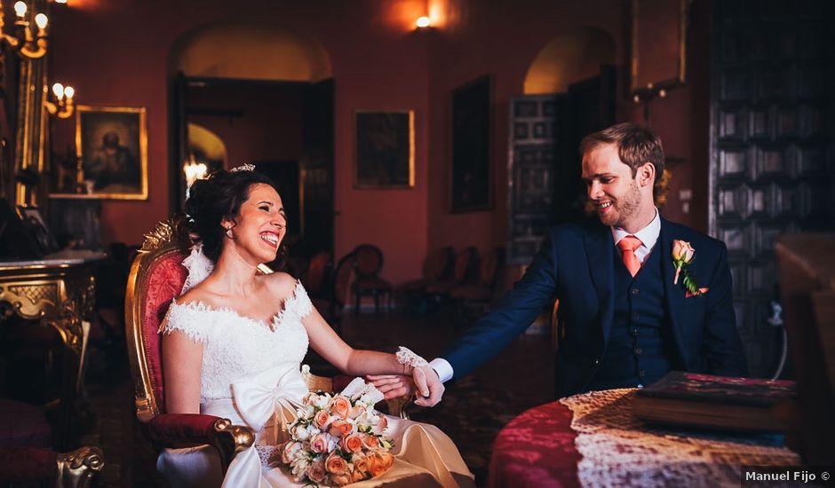 La boda de Josh y Maria José en Ecija, Sevilla