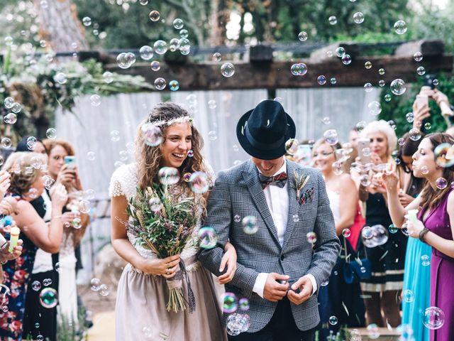 La boda de Amara y Toni