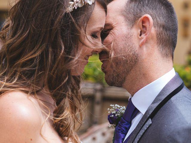 La boda de Carolina y Rubén