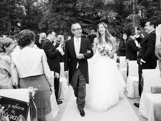 La boda de Víctor y Elena en San Ildefonso O La Granja, Segovia 15