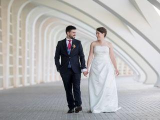 La boda de Adina y Javi