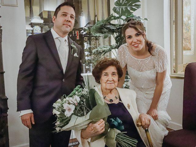 La boda de Javier  y Elena en Madrid, Madrid 18