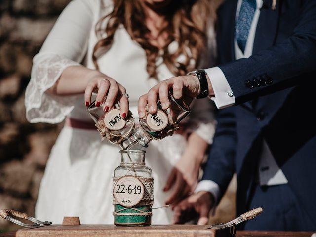 La boda de Samuel y Almudena en Cereceda (Villamayor), Asturias 134