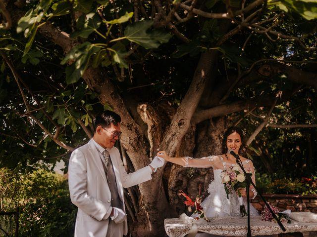 La boda de Yoshiki y Mar en Tagamanent, Barcelona 1