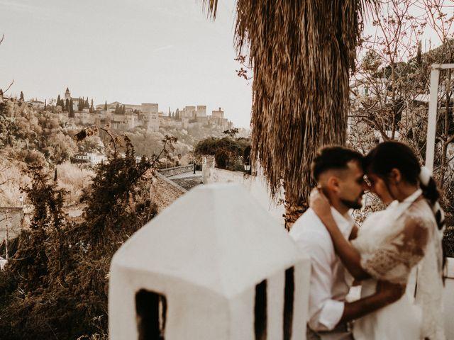 La boda de Carlos y Victoria en Granada, Granada 118