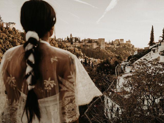 La boda de Carlos y Victoria en Granada, Granada 128