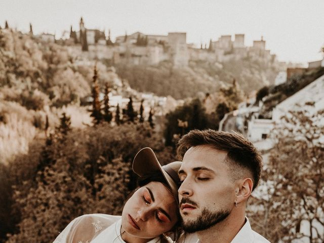 La boda de Carlos y Victoria en Granada, Granada 130