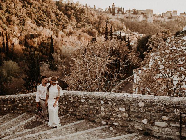 La boda de Carlos y Victoria en Granada, Granada 141
