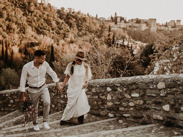 La boda de Carlos y Victoria en Granada, Granada 143