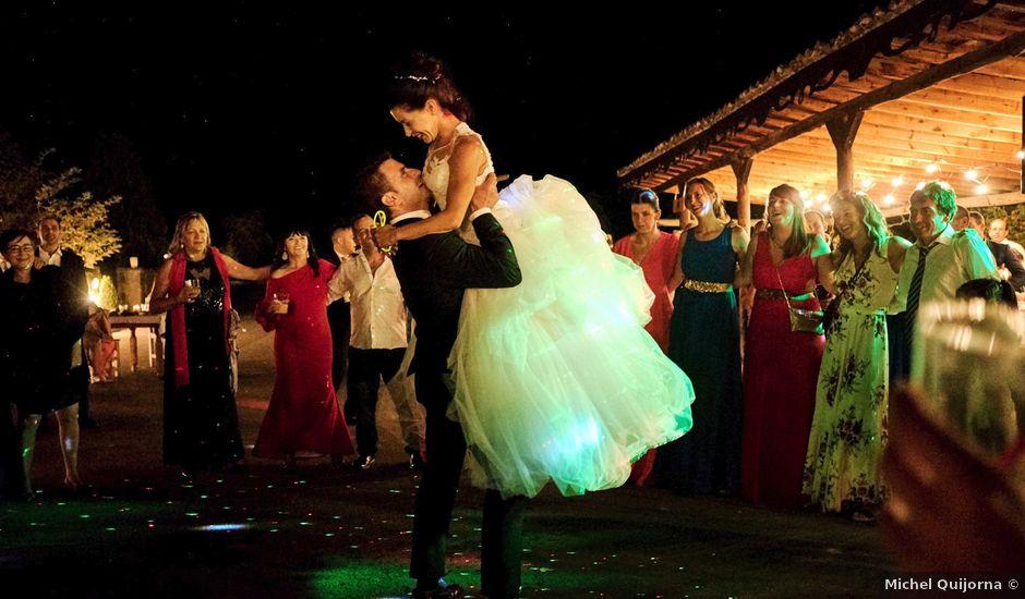 La boda de Paco y Montse en Polientes, Cantabria