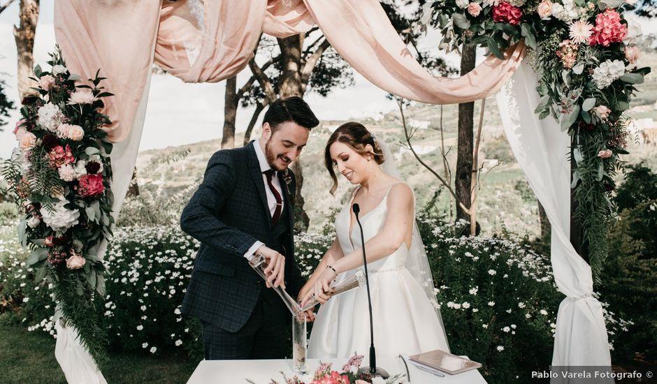 La boda de Scott y Fátima en Arucas, Las Palmas