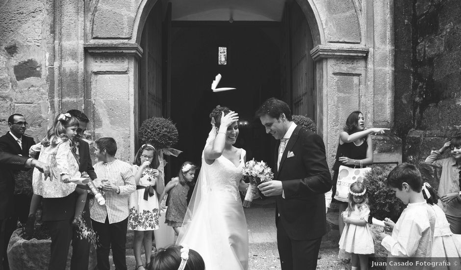 La boda de Tomás y Ana en Baeza, Jaén